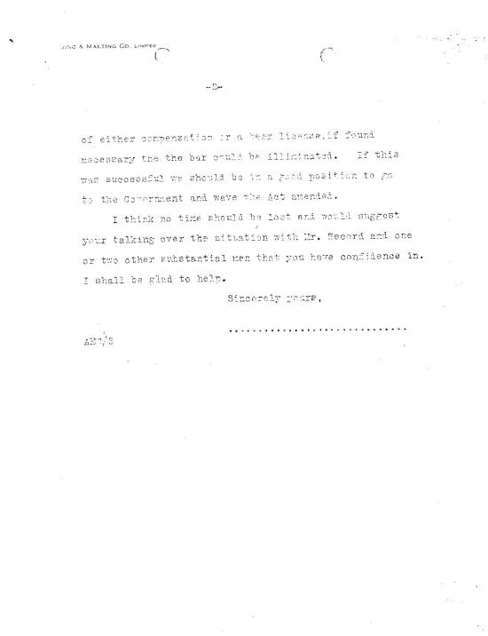 Cross' reply to Sheppard on Oct 15, 1915 (part 2)
