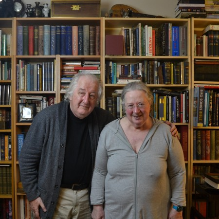 Dave and Frances Cruden at home.