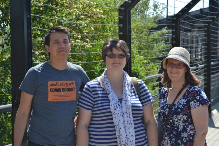 Chris, Susan, and Karen
