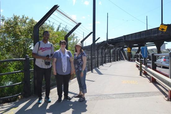 Oumar, Susan, and Karen